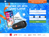 Cyber Monday iPhone X - emailing uniquement